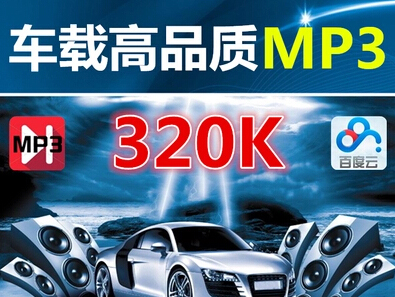 高品质mp3音乐DJ舞曲慢摇汽车载MP3经典老歌320k音乐串烧打包下载